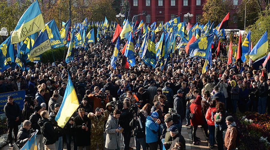 Saving Poroshenko? US State Dept offers $800k to Ukraine NGOs