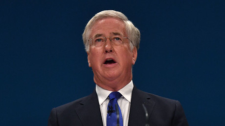 British Defence Secretary Michael Fallon. © Ben Stansall