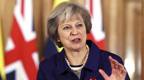 Britain's Prime Minister Theresa May © Facundo Arrizabalaga