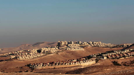 A view of the West Bank Jewish settlement of Maale Adumim is seen near Jerusalem © Ammar Awad