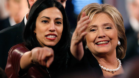 Huma Abedin, aide to Democratic U.S. presidential candidate and former Secretary of State Hillary Clinton © Jim Young