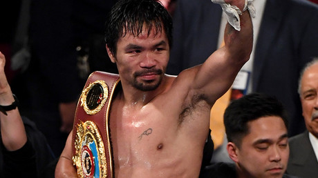 Manny Pacquiao beats Jessie Vargas in return to boxing