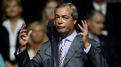 Nigel Farage plans to head 100,000-strong march on Supreme Court to protest Brexit ruling