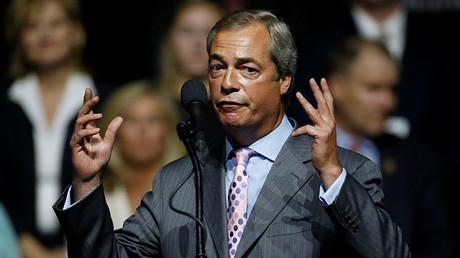 Nigel Farage. ©Carlo Allegri