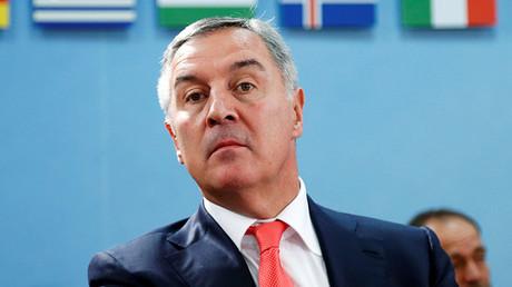 Montenegro's Prime Minister Milo Djukanovic. ©Francois Lenoir