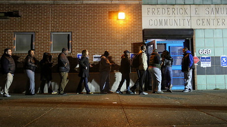 Long lines, equipment failures in several states during historic US election day