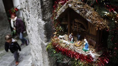'Nativity war': Baby Jesus to be allowed in French town halls, despite secularists' complaints