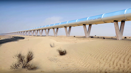 Pipe dream or future of transport? Hyperloop One plans epic tube network (VIDEO)