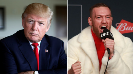 U.S. President-elect Donald Trump and UFC Featherweight Champion Conor McGregor © Reuters / AFP
