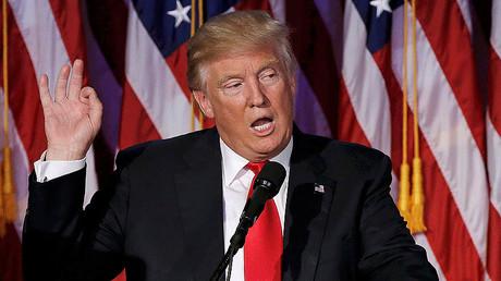 U.S. President elect Donald Trump © Mike Segar