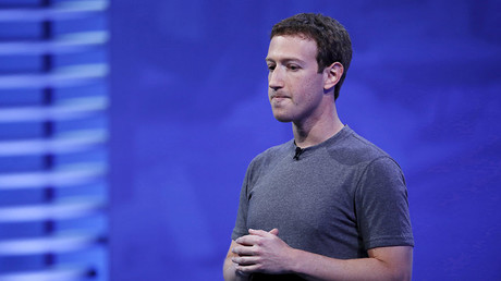 Facebook CEO Mark Zuckerberg. ©Stephen Lam
