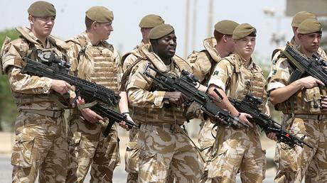 British soldiers. File photo. © Ahmad Al-Rubaye