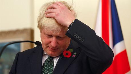 Britain's Foreign Secretary Boris Johnson © Djordje Kojadinovic