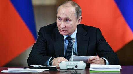 Russian President Vladimir Putin © Maksim Blinov