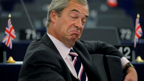 Nigel Farage, United Kingdom Independence Party member and MEP © Vincent Kessler