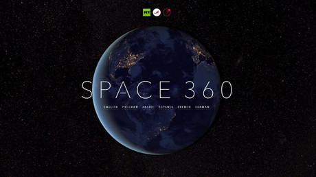 RT's first-ever 360° video from space allows viewers to feel like 'real cosmonauts'