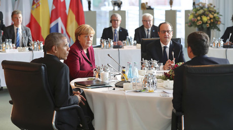 Obama, EU leaders agree to keep anti-Russian sanctions over Ukraine