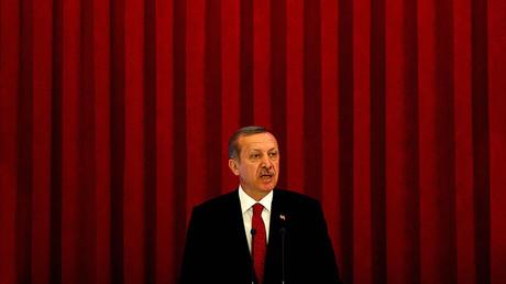 Turkish President Tayyip Erdogan. File photo. © Dado Ruvic