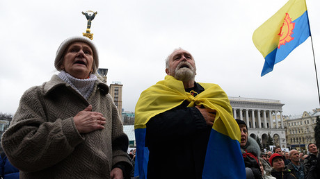 Ukraine marks 'Dignity & Freedom Day' as Euromaidan dream falters