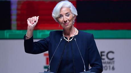 IMF Managing Director Christine Lagarde © Martin Bernetti