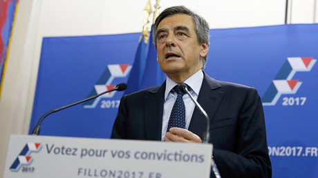 French politician Francois Fillon, member of the conservative Les Republicains political party © Thomas Samso