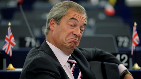 Trump suggested Farage for the role of UK ambassador to the US. © Vincent Kessler
