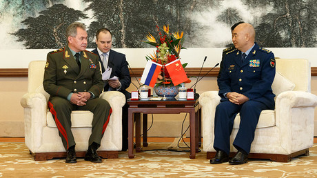 Russia-China military ties 'at all-time high,' no threat to other states