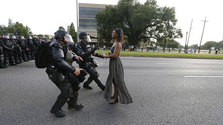 Protesters in Baton Rouge police killing claim history of 'racist law enforcement' – lawsuit