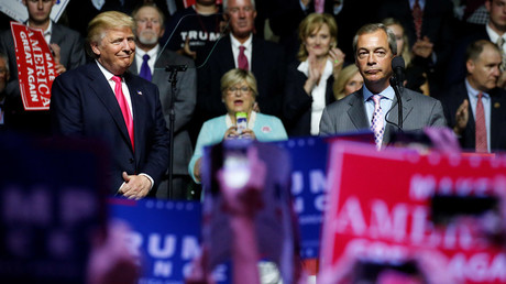 Farage to meet Trump camp again as he plans 'permanent move' to US