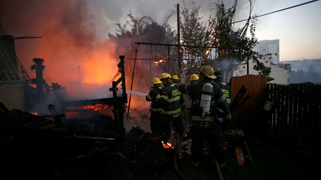 Wildfires in Israel force over 80,000 people to evacuate, Netanyahu blames 'arsonist terrorism'