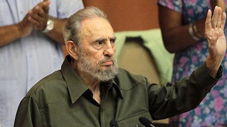 Fidel Castro © Desmond Boylan