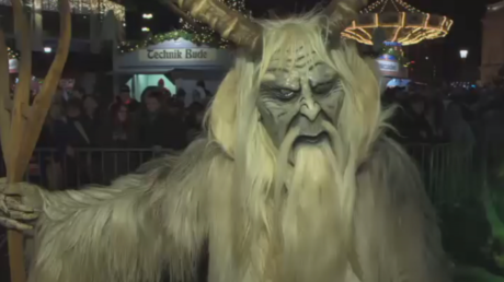 Demons banished from Vienna during creepy festival (VIDEO)