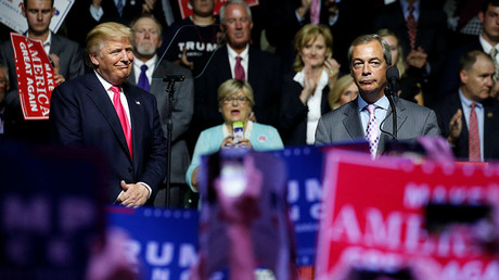 Farage will ask American people to forgive Brits for criticizing Trump