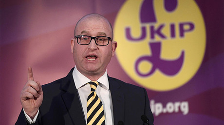United Kingdom Independence Party (UKIP) newly elected leader Paul Nuttall speaks after the announcement of his success in the leadership election, in London, Britain November 28, 2016. © Toby Melville
