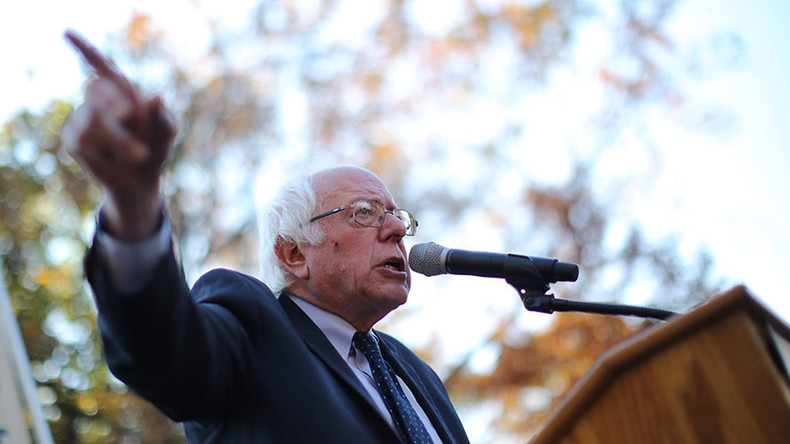 US headed for 'economic & political oligarchy' if people don't act – Sanders