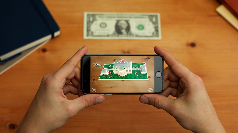 'A year at the White House': Augmented reality app gives dollar-sized virtual tour