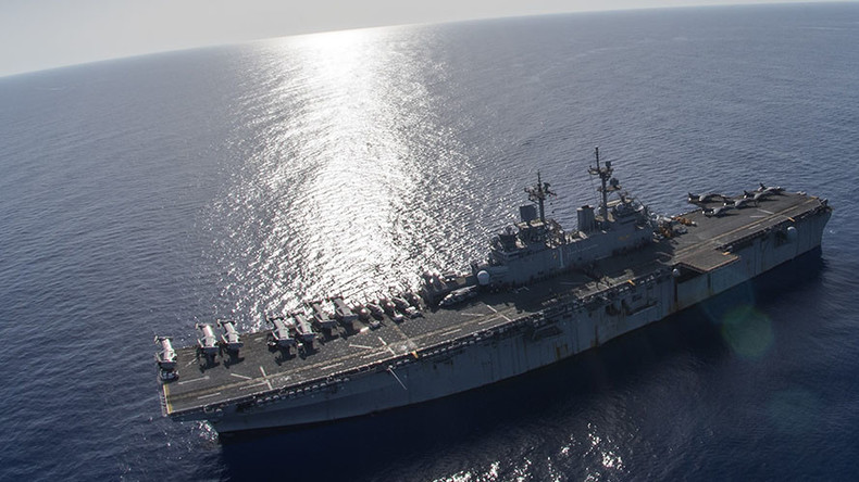 2 US warships, 4k troops arrive in Mediterranean – Navy