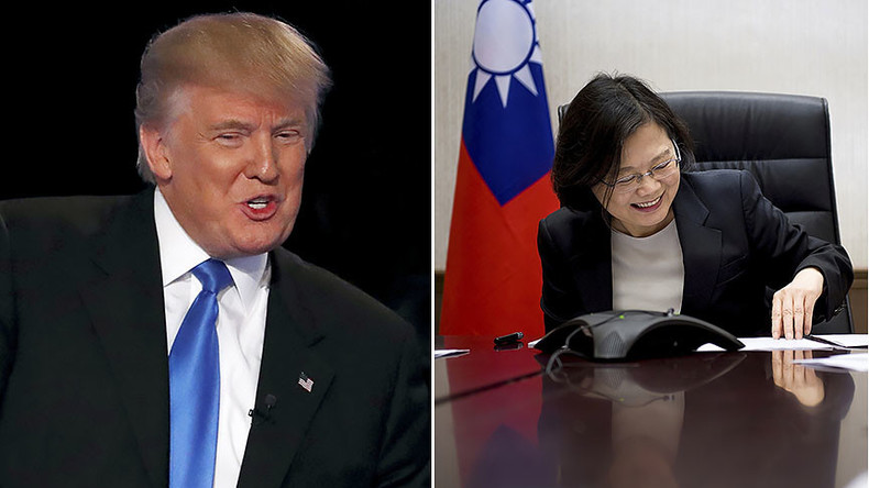 Stick to 'one China' policy, Beijing tells US after historic call between Trump & Taiwan's president