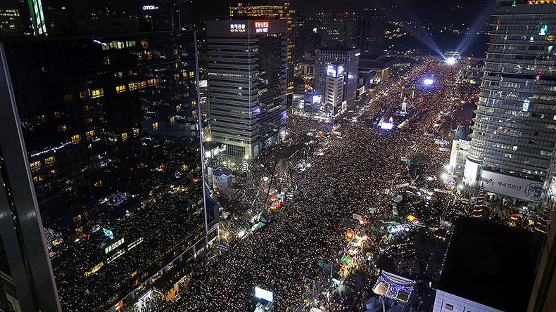 Over 1mn S. Koreans protest embattled President Park, opposition seeks impeachment (PHOTOS, VIDEOS)