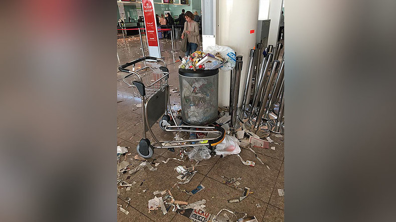 Wasteland: Barcelona airport covered in trash after cleaners go on strike (PHOTOS, VIDEO)
