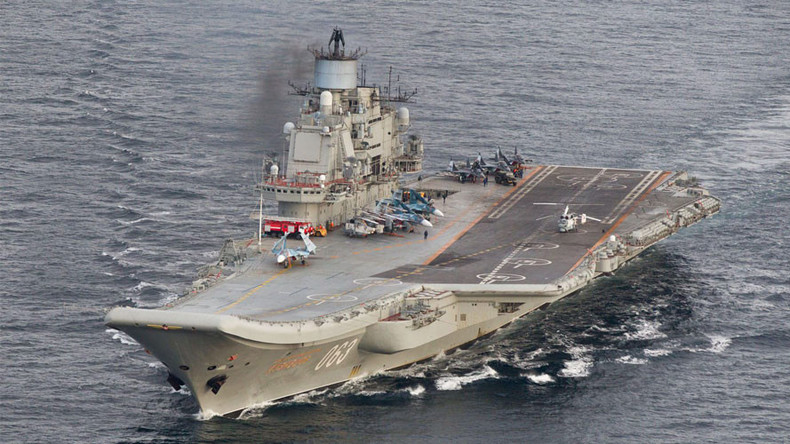 8 NATO ships shadowed Russian aircraft carrier 'Kuznetsov'
