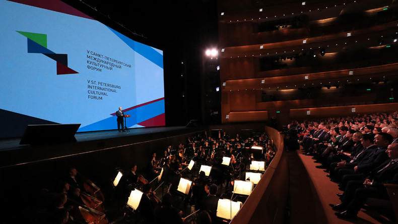 Russia's artistic revival showcased at 5th St. Petersburg International Cultural Forum