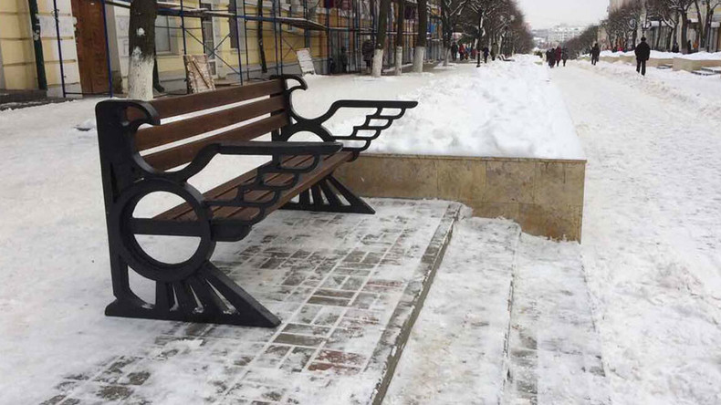 'Nazi eagle' benches stir controversy in Russian city