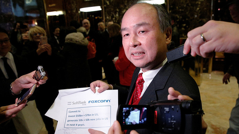 Japan billionaire plans to invest $50bn in US, create 50,000 new jobs