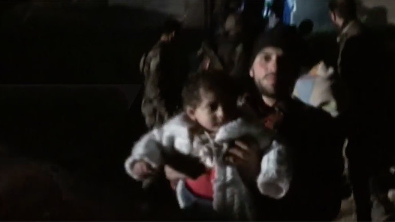 Syrian forces liberate civilians in parts of Aleppo's Old City (VIDEO)