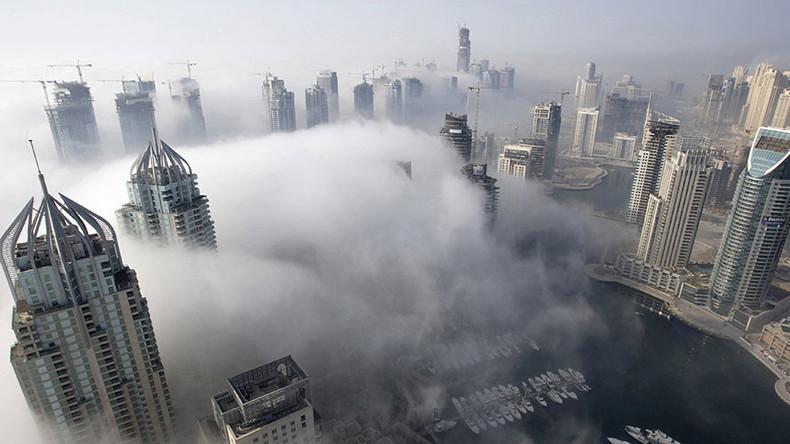 Dense fog engulfs Dubai skyline in haunting images (VIDEOS, PHOTOS)
