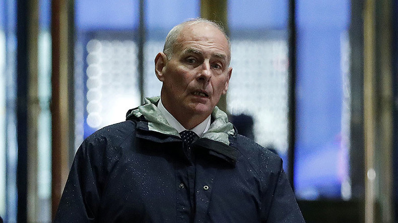 Views of General Kelly: Likely head of Dept. Homeland Security