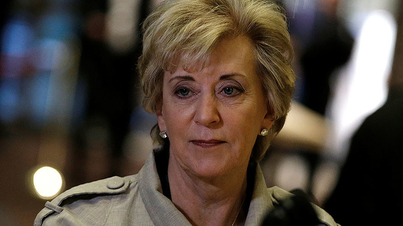 Trump picks wrestling magnate Linda McMahon to head Small Business Administration