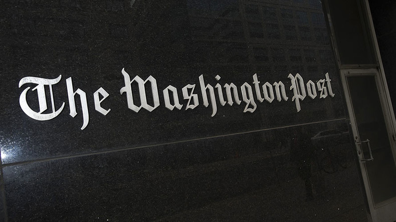 Washington Post admits article on 'Russian propaganda' & 'fake news' based on sham research