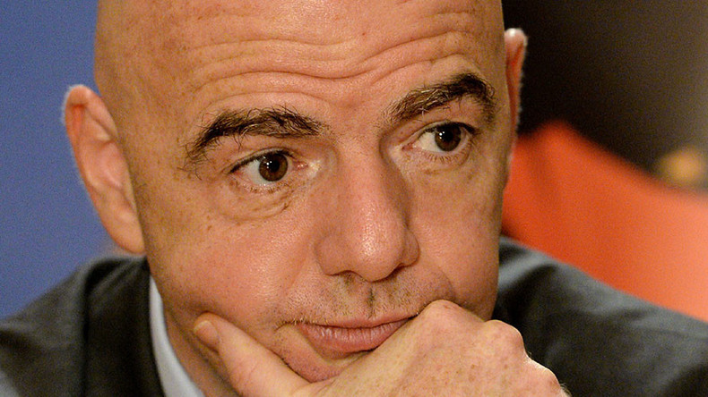 FIFA boss Infantino wants 'zero tolerance' of sex abuse in football